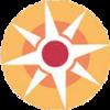 Figuur uit logo voor achtergrond