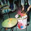 Colours drums indie music paint favim.com 183253