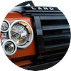 Land rover defender fire ice editions 00