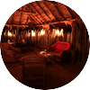 Luxury safari tent surrounded nature south africa2