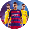 Messi suarez neymar hd wallpaper 2015 by selvedinfcb d946qs8