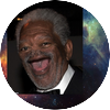 Noseless morgan freeman