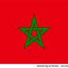 Vlag marokko1