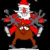 Animiertes weihnachtsmann bild 0008